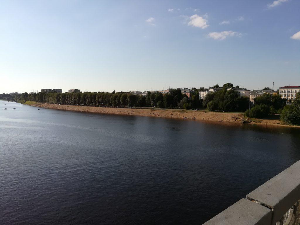 Городской пляж Тверь