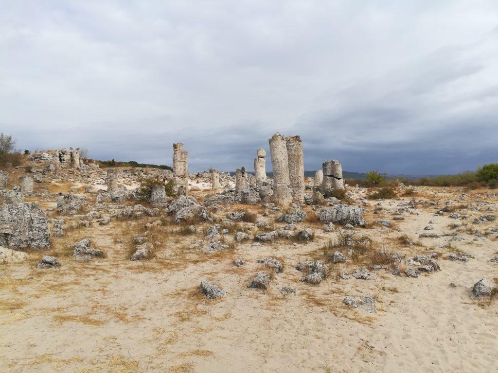Побитите камни, Болгария, маршрут