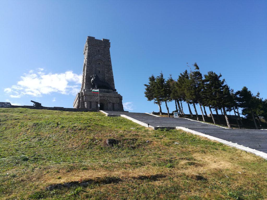 Шипка  Болгария, маршрут