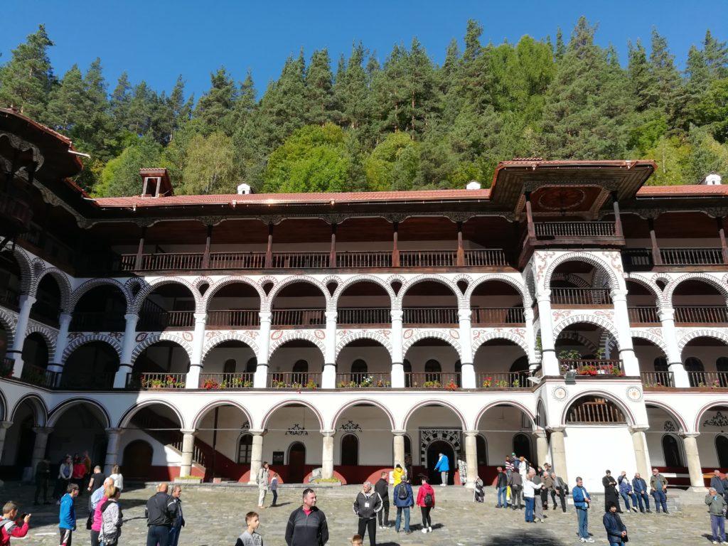 Рильський монастырь, Болгария, маршрут