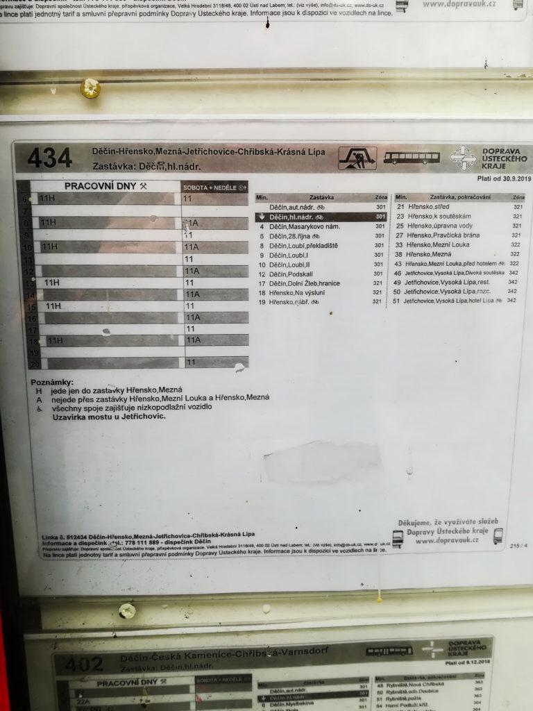 Автобус 434 Грженско (Хренско)