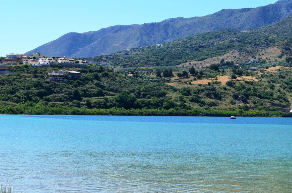 Озеро Курна, Крит, Греция