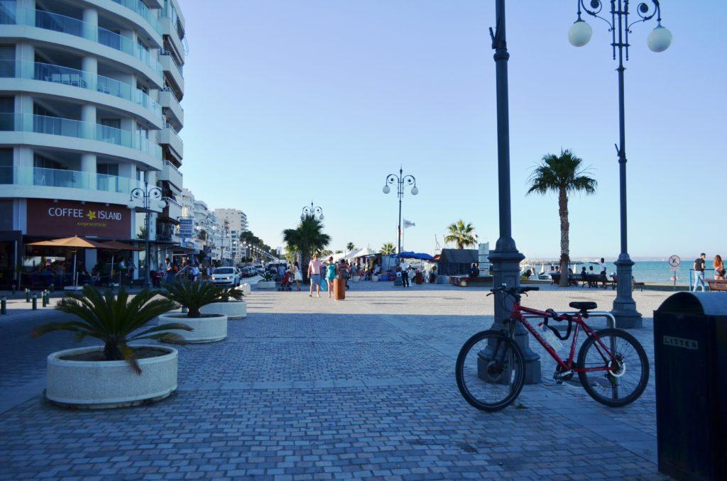Набережная Ларнаки, Кипр