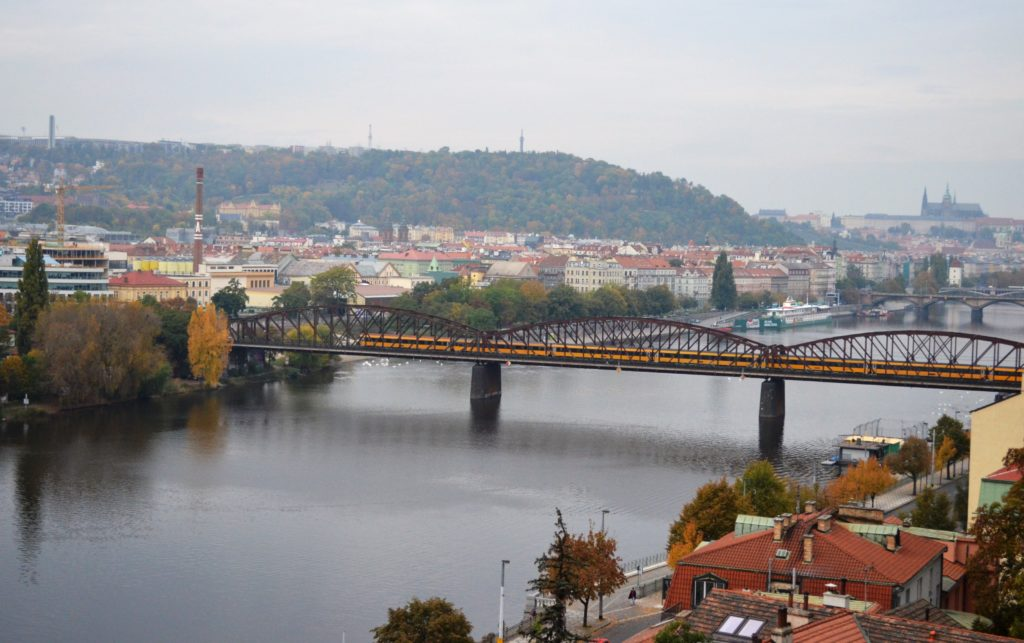 Прага, вид с Вышеграда
