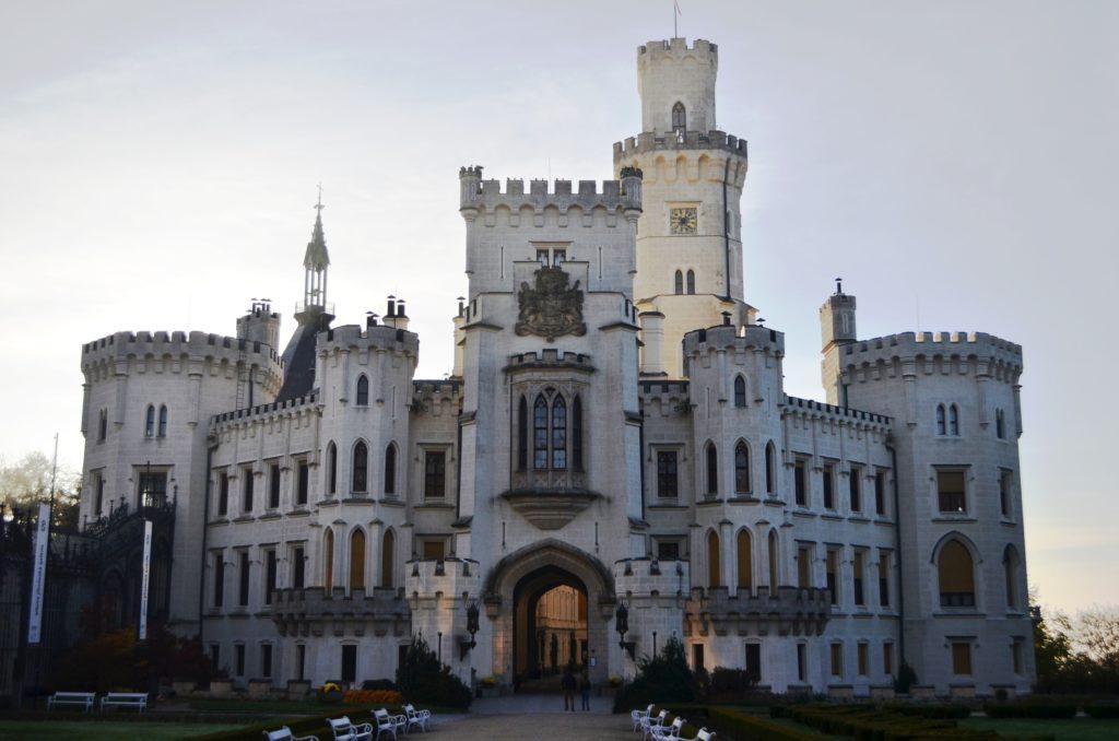 Замок Глубока, Глубока-над-Влтавой, Чехия