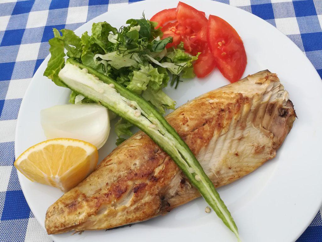 Обед в Стамбуле за 10 лир