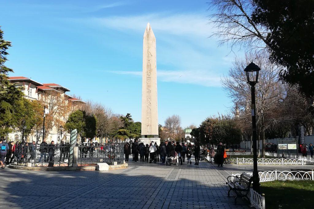 Площадь Ипподрома, Стамбул, Турция