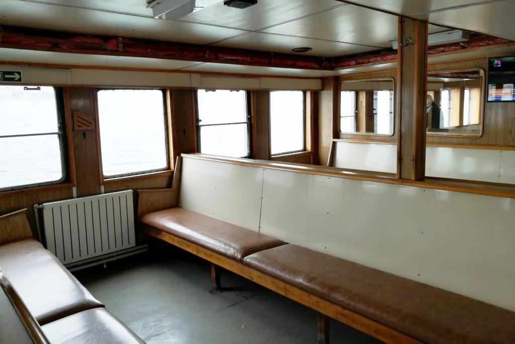 Sehir Hatlari Cruise - интерьер корабля
