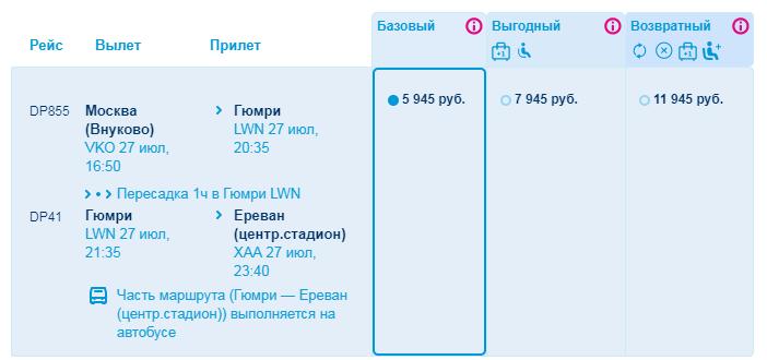 Победа Гюмри-Ереван