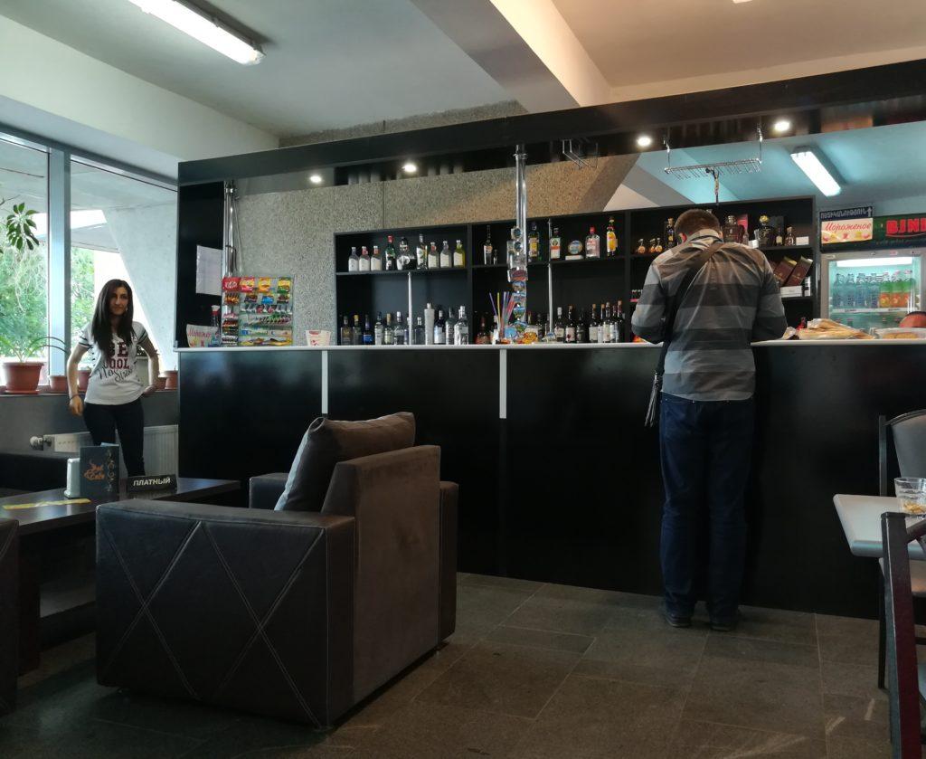 Кафетерий в аэропорту Гюмри