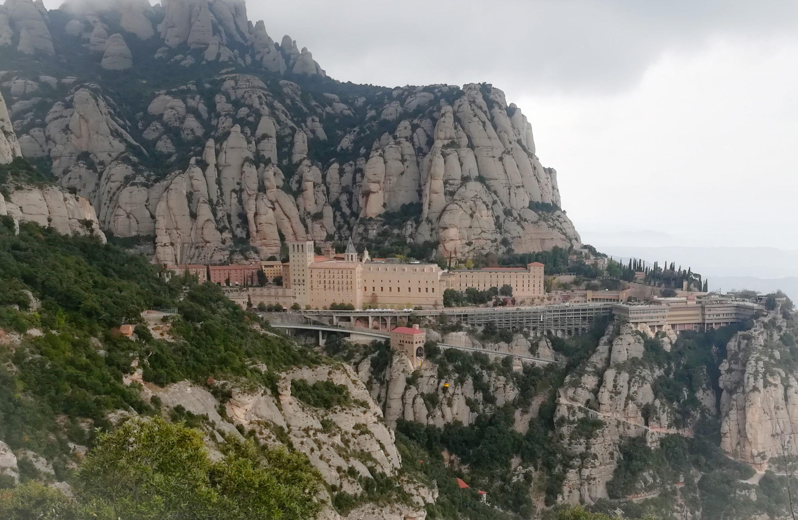 Монсеррат, Каталония, Испания Барселона как добраться