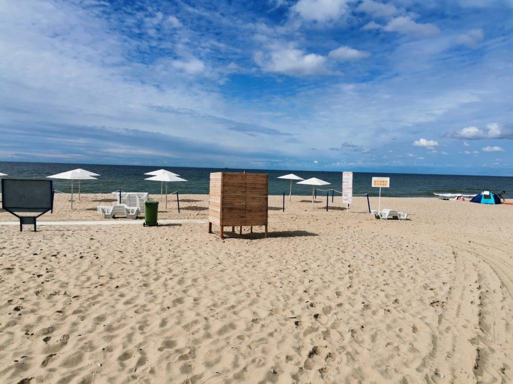 пляж шахта Анна Янтарный