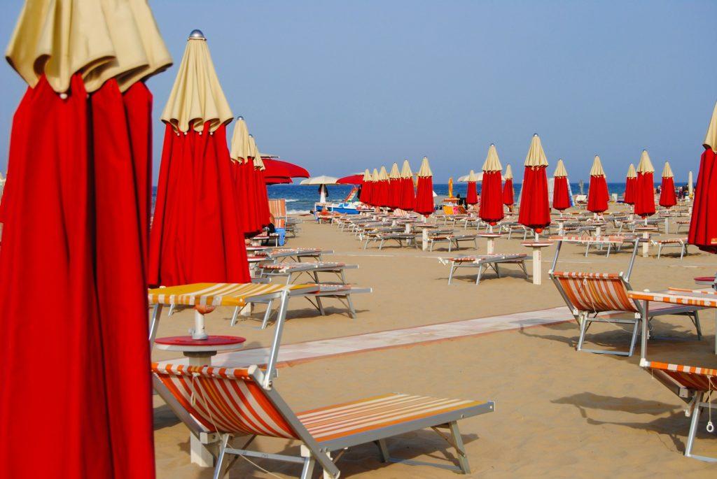 Бесплатные пляжи римини карта